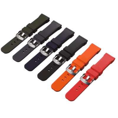 ZULUDIVER 317 Italian Rubber Watch Strap