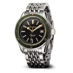 Geckota G-02 Gen 1 PT5000 40mm Diver's Watch / End of Line - Jade Green