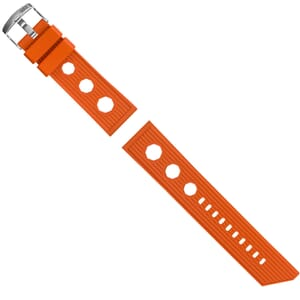 ZULUDIVER 321 Italian Rubber Watch Strap