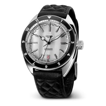 Geckota Racing C-03 SII NH35 42mm Automatic Watch / End of Line - Silver