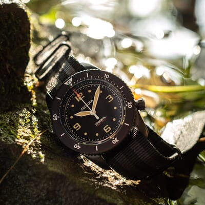 Geckota S-01 Phalanx ETA 2824 Military Watch