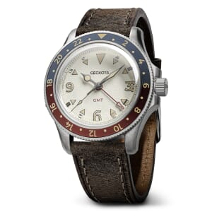 DISCONTINUED: Geckota G-02 Swiss Quartz 40mm GMT