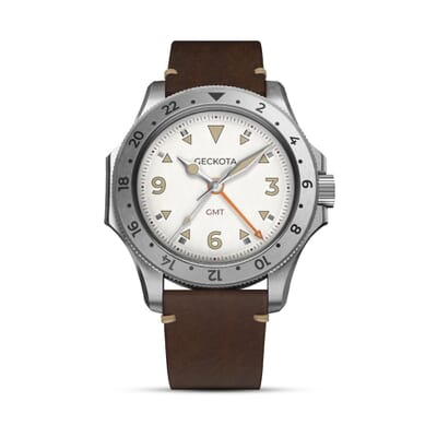 Geckota G-02 Swiss Quartz 40mm GMT