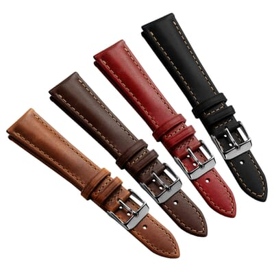 Kington Horween Vintage Leather Watch Strap