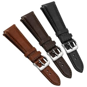 Tillington Vintage Genuine Leather Watch Strap Quick Release Spring Bars
