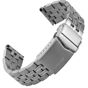 Seabrook Solid Stainless Steel Diver's Watch Strap