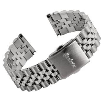 Geckota Classic Warrington Stainless Steel Watch Strap