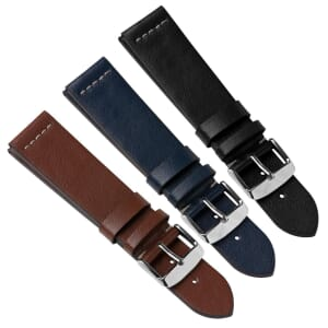 Parona Recycled Leather Fibre Watch Strap
