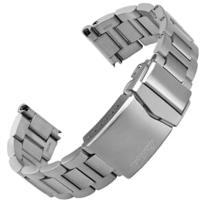 Langstone Solid Stainless Steel Diver's Watch Strap