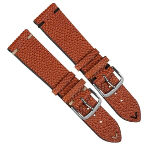 Genuine Horween Basketball Leather Watch Strap