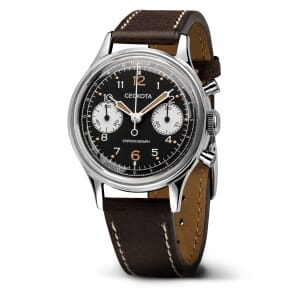 DISCONTINUED: Geckota W-02 Vintage Mechanical Chronograph Military Watch