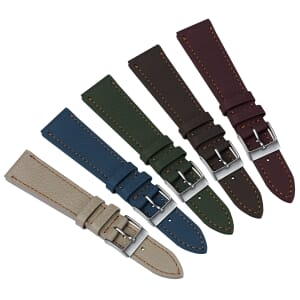 Soft Top Grain Leather Watch Strap