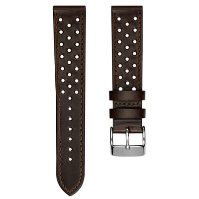 Lenchwick Racing Horween Leather Watch Strap