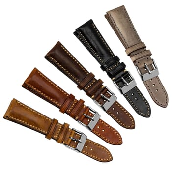 Vintage Highley Leather Watch Strap