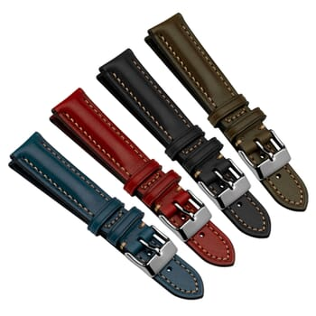 Highley Douglas Genuine Leather Watch Strap