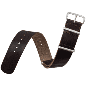 Horween American Leather NATO Watch Strap