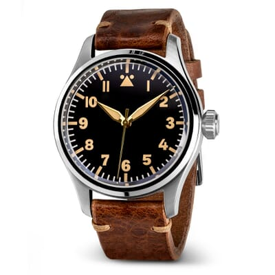 Geckota K-01 Type A 40mm ETA-2824 Pilot's Watch