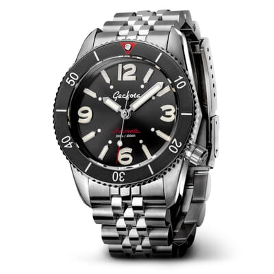 Geckota S-01 ETA 2824 300 Meters Automatic Dive Watch
