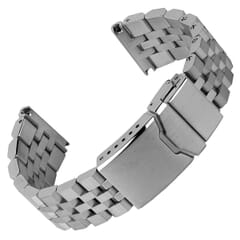 Shaldon Solid Stainless Steel Watch Strap