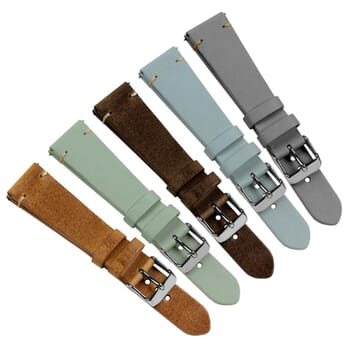 Vintage Winchester Short Quick Release Genuine Leather Watch Strap
