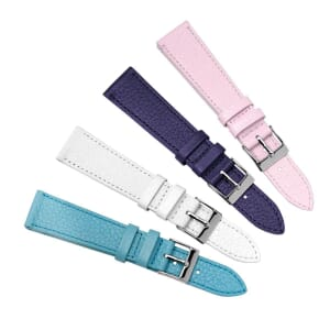 Cebu Pastel Soft Top Grain Leather Watch Strap