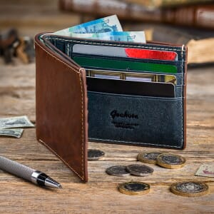 Geckota Italian Leather Wallet